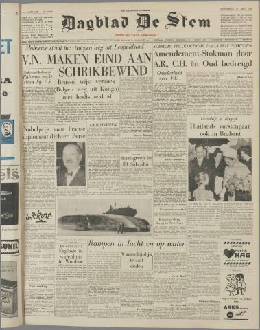 de Stem 1960-10-27