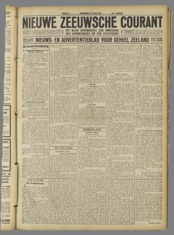 Nieuwe Zeeuwsche Courant 1924-04-10