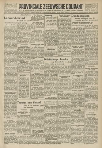 Provinciale Zeeuwse Courant 1947-02-12
