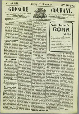Goessche Courant 1912-11-26