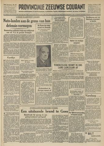 Provinciale Zeeuwse Courant 1952-03-14