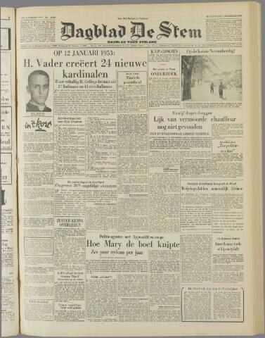 de Stem 1952-12-01