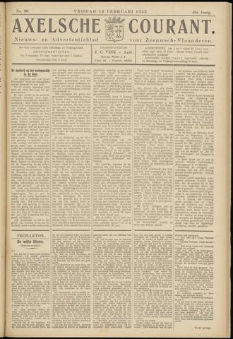 Axelsche Courant 1933-02-10