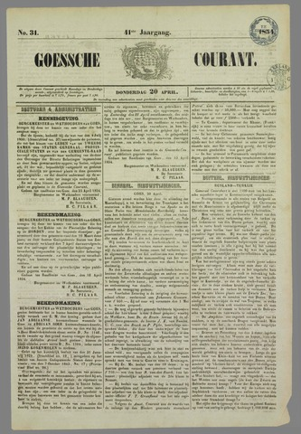 Goessche Courant 1854-04-20