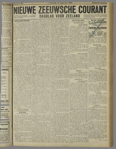 Nieuwe Zeeuwsche Courant 1920-09-22