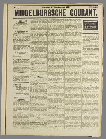 Middelburgsche Courant 1927-09-27