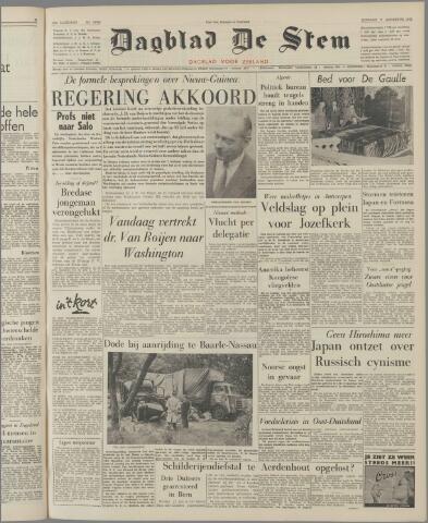 de Stem 1962-08-07