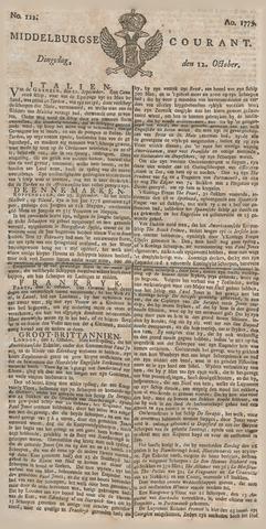 Middelburgsche Courant 1779-10-12