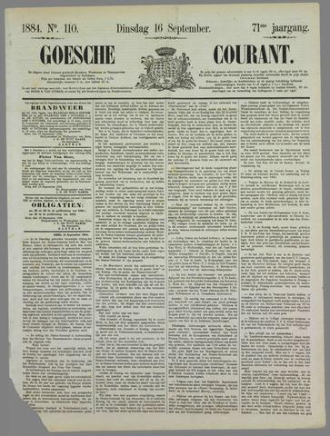 Goessche Courant 1884-09-16