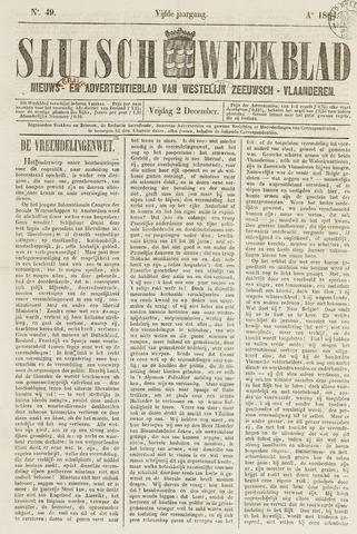 Sluisch Weekblad. Nieuws- en advertentieblad voor Westelijk Zeeuwsch-Vlaanderen 1864-12-02