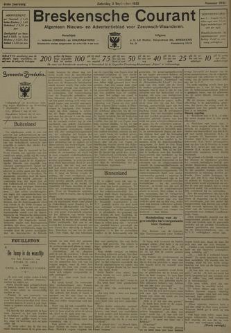 Breskensche Courant 1932-09-03
