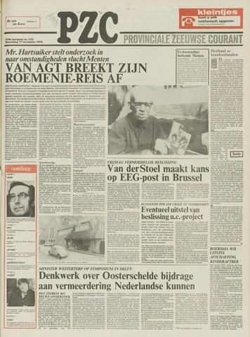 Provinciale Zeeuwse Courant 1976-11-17