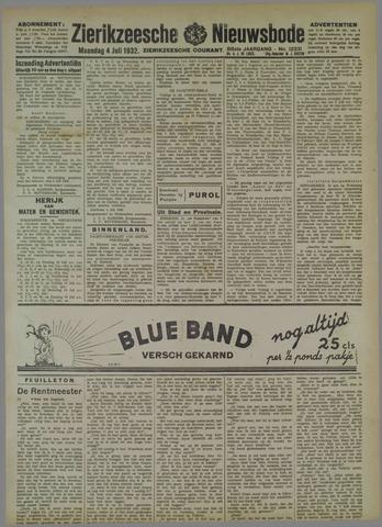 Zierikzeesche Nieuwsbode 1932-07-04