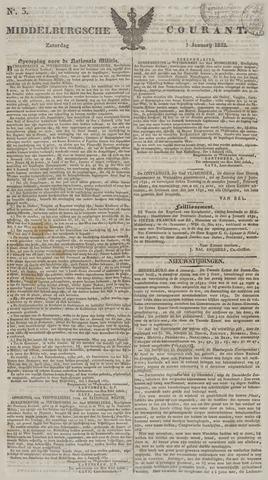 Middelburgsche Courant 1832-01-07