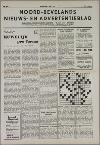 Noord-Bevelands Nieuws- en advertentieblad 1983-07-08