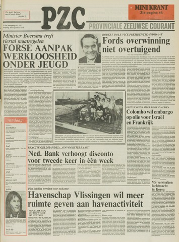 Provinciale Zeeuwse Courant 1976-08-20