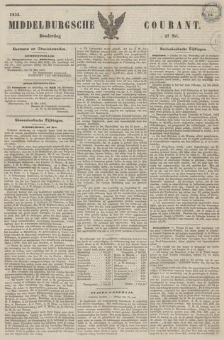 Middelburgsche Courant 1852-05-27