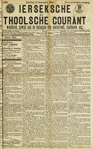 Ierseksche en Thoolsche Courant 1915-09-11