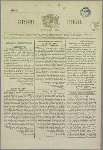 Goessche Courant 1850-07-22