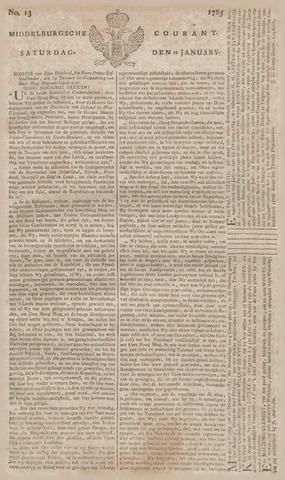 Middelburgsche Courant 1785-01-29