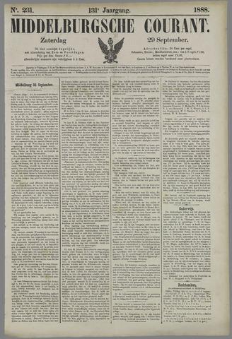 Middelburgsche Courant 1888-09-29