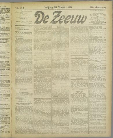De Zeeuw. Christelijk-historisch nieuwsblad voor Zeeland 1919-03-21