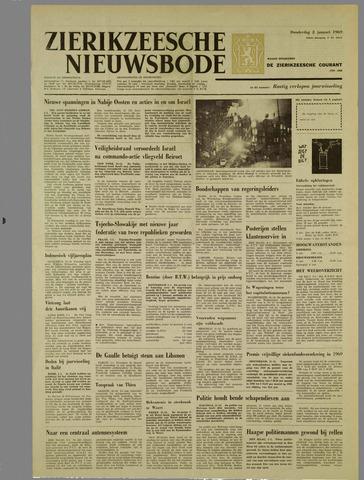 Zierikzeesche Nieuwsbode 1969