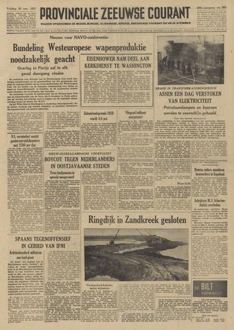 Provinciale Zeeuwse Courant 1957-11-29