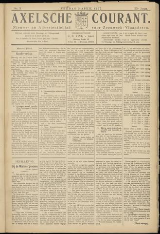 Axelsche Courant 1937-04-09
