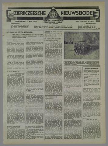 Zierikzeesche Nieuwsbode 1942-05-21