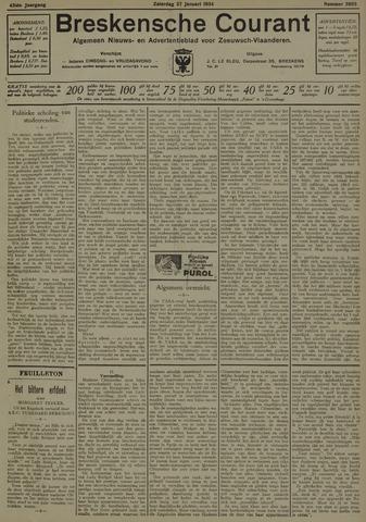 Breskensche Courant 1934-01-27