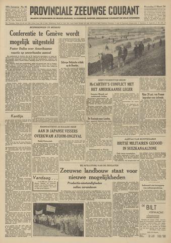Provinciale Zeeuwse Courant 1954-03-17
