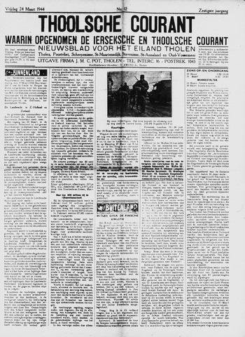 Ierseksche en Thoolsche Courant 1944-03-24
