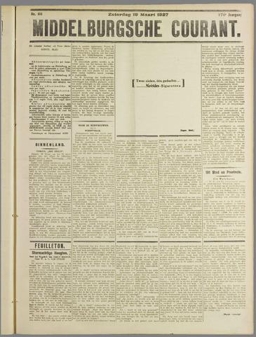 Middelburgsche Courant 1927-03-19