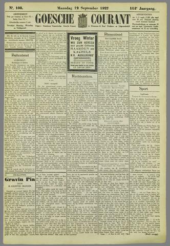 Goessche Courant 1927-09-12