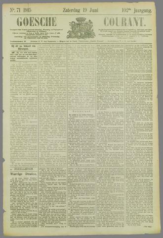 Goessche Courant 1915-06-19