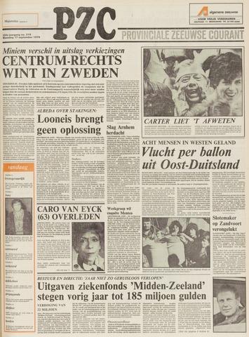 Provinciale Zeeuwse Courant 1979-09-17