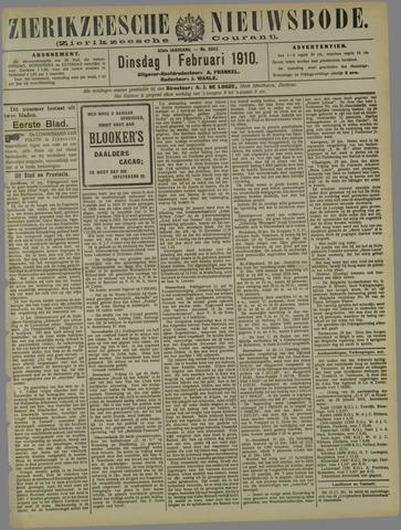 Zierikzeesche Nieuwsbode 1910-02-01