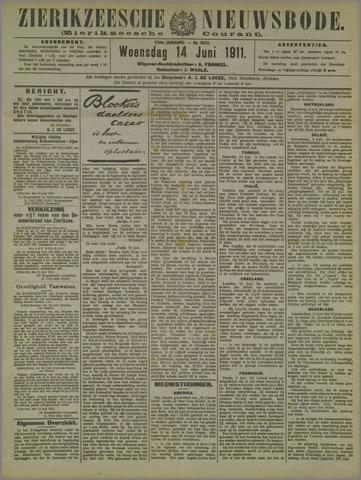 Zierikzeesche Nieuwsbode 1911-06-14