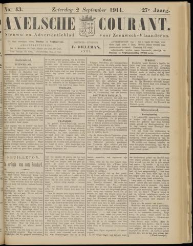 Axelsche Courant 1911-09-02