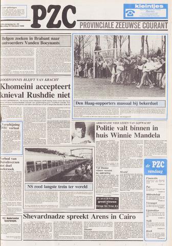Provinciale Zeeuwse Courant 1989-02-20