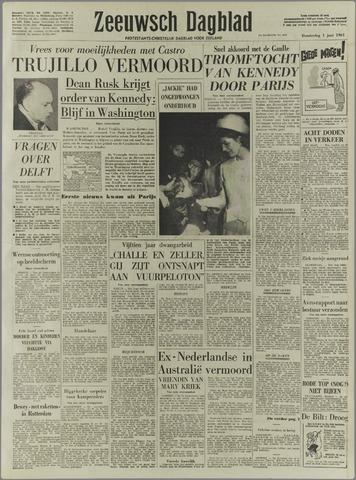 Zeeuwsch Dagblad 1961-06-01