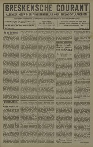 Breskensche Courant 1925-10-21