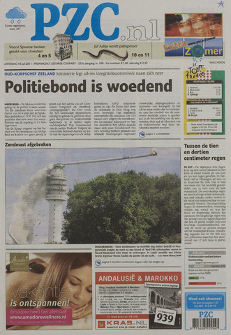 Provinciale Zeeuwse Courant 2011-07-16