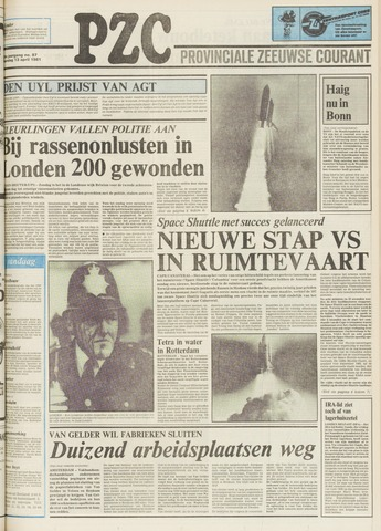 Provinciale Zeeuwse Courant 1981-04-13