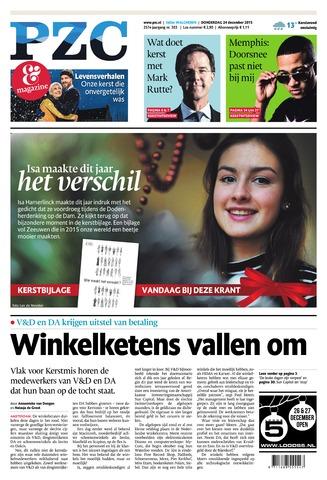 Provinciale Zeeuwse Courant 2015-12-24