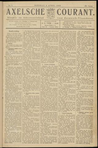 Axelsche Courant 1933-04-04