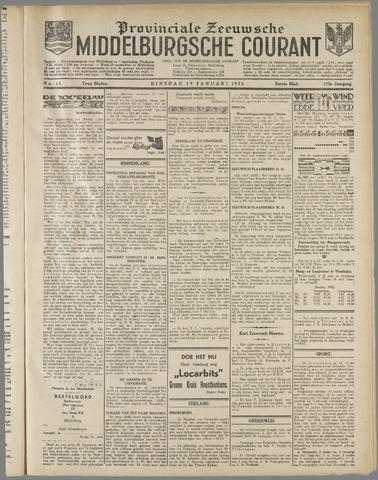 Middelburgsche Courant 1932-01-19