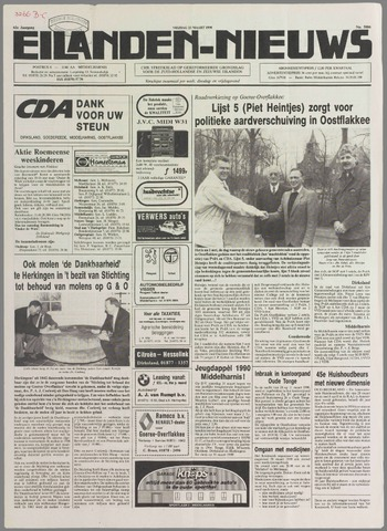 Eilanden-nieuws. Christelijk streekblad op gereformeerde grondslag 1990-03-23