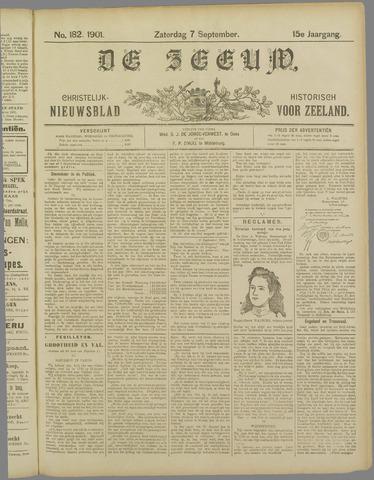 De Zeeuw. Christelijk-historisch nieuwsblad voor Zeeland 1901-09-07
